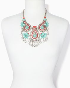 Rainforest Marquis Statement Necklace | Charming Charlie