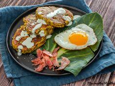 Recette de galette de poireau au bacon à la ricotta pour accompagner un repas de façon saine et légère. Avec données nutritionnelles.