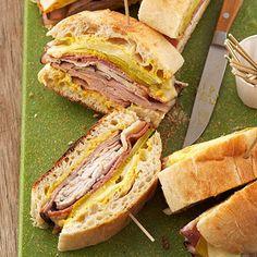 Cuban Griller Sandwich | #sandwich #cuban #tailgating_food #football_food
