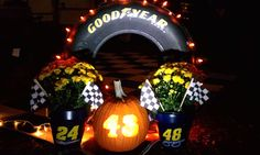 WEEK 2 (Oct. 19, 2012): Congratulations to Cathy Smith for being this week's winner in our Pumpkin Decorating Contest. She won a special Hendrick Motorsports 200th NASCAR Cup win poster and a signed Jimmie Johnson poster.