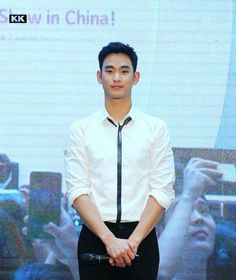 """awesome Kim Soo Hyun - [02.09.15] """"K-Beauty Show"""" in Hangzhou, China. The event was arranged by The Face Shop"""
