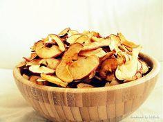 Sušené domáce jabĺčka - VANILKOVÉ