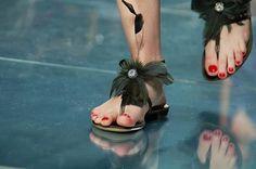 sandálias de penas - Luís Onofre