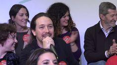 Pablo Iglesias presenta el equipo de Podemos Para Todas para el CCE