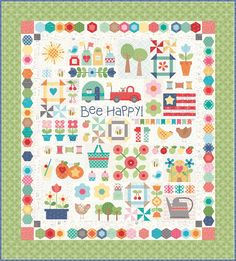 Hello again...   YaY!   It's week ten and time   for the big finish:)        If you want to make my   Sweetie Pie Quilt   CLICK HERE ...