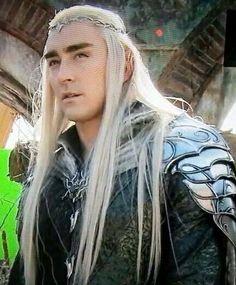 Elvenking Thranduil dressed for battle. He's gunna eff some orcs up!
