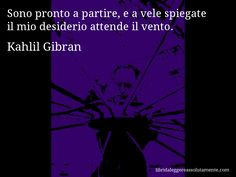 Cartolina con aforisma di Kahlil Gibran (28)