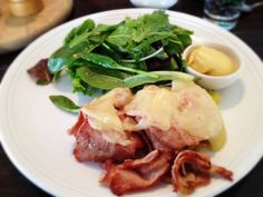 Ham and Cheese With Salad: 12/16/13