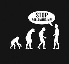 HA! this is great Goes with my evolution collection on my real board in my office!