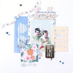 Designer @amelie_mordret is up on the blog with this beautiful LO using our #september2015 kits featuring @americancrafts @dearlizzy @amytangerine  @shopfreckledfawn #hipkits #hipkitclub #septemberkits #scrapbooking #scrapbook #scrapbookkits