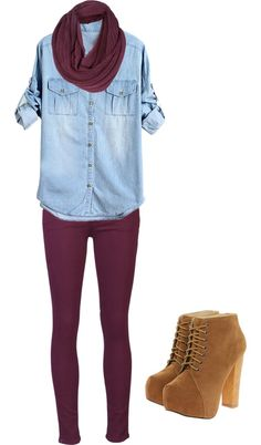 This reminds me I could have this outfit if @moxiethrift on etsy Walker-Simpson didn't still have my burgundy tights from 2 semesters ago