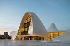 INTERNATIONAL: Heydar Aliyev Center in Azerbaijan Snags Design of Year Award from London Design Museum