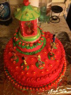Tinker Bell Cake!!