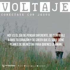 Hoy es el día de pensar diferente, de confiarle a Dios tu corazón. #ConéctateConJesús http://devocional.casaroca.org/jv/25jun