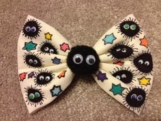 Soot Sprite Bow by imagineBeyondReality Ghibli. Totoro and friends