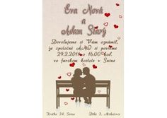 Svadobné oznámenie - SV005