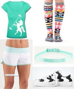 This is my ultimate collection for my Crossfit Outfit Gear. I saw these at www.fitnessgirlapparel.com