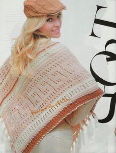 Crochet irlandês &: revista de moda 581