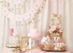 Project Nursery - Hot Air Balloon Birthday Partyadorable #pink #nursery #projectnursery