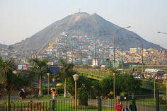 Cercado de Lima y cerro San Cristobal