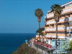 Type: Atlantic Terrace 48sqm, comb bed-sitting room, terrace m. Garden, sea view.Holiday Rental in Puerto de la Cruz from @HomeAwayUK #holiday #rental #travel #homeaway