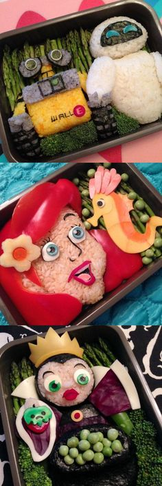 These incredible bento boxes put a tasty spin on your favorite Disney movie.