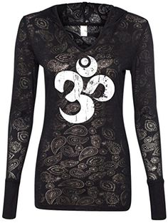 Ladies WHITE DISTRESSED OM Burnout Hoodie Tee, 2XL Black Yoga Clothing For You http://www.amazon.com/dp/B00LIYY52Q/ref=cm_sw_r_pi_dp_PEQTtb04H4GQYCRB