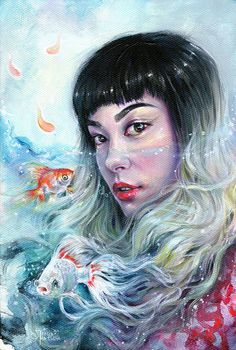 Traditional Art by Tanya Shatseva