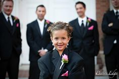 Another cute flower girl photo