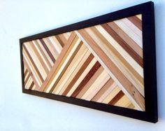Wall Art Wood Wall Art Reclaimed Wood Art by moderntextures