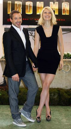 I loove these 2 together! He's bad boy,while she's goodgirl! Ironman,n pepper.Robert Downey Jr. and Gwyneth Paltrow