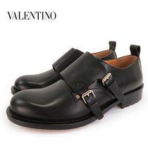◆ヴァレンティノ HYS00821 AVLS02 レザーシューズ 0NO/ブラック