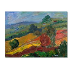 "Trademark Fine Art ""Napa 2"" by Manor Shadian Painting Print on Wrapped Canvas"