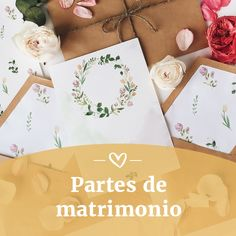 Los partes definen el estilo del matrimonio. #invitacion #tarjetasdeinvitación #diseño #deco #creatividad #diseñobonito #lettering #ilustracion #invitaciones #sobre #tarjetaoriginal #invitados #invitacionesboda #invitaciones2019 #parte #partesdematrimonio #partematrimonio Invitation Paper, Wedding Invitation, Weddings, Couple, Fonts, Amor, Wedding Band Ring