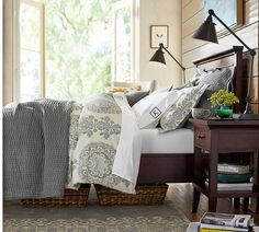 Lucianna Medallion Duvet Cover & Sham | Pottery Barn