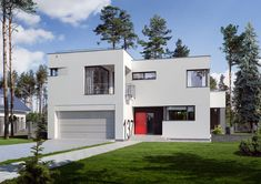DOM.PL™ - Projekt domu ED E-137 CE - DOM ED1-37 - gotowy koszt budowy Home Fashion, Shed, New Homes, Outdoor Structures, Mansions, House Styles, Outdoor Decor, Home Decor, Future