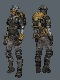 female engineer concept art - Google Search