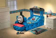Thomas the train bed!!