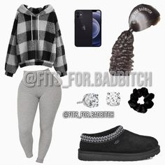 Cute Lazy Outfits, Baddie Outfits Casual, Swag Outfits For Girls, Teenage Girl Outfits, Cute Swag Outfits, Chill Outfits, Girls Fashion Clothes, Dope Outfits, Stylish Outfits