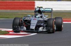 GP Gran Bretagna: L2: Rosberg davanti alle 2 Ferrari
