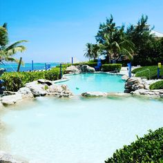 Shift into #vacation mode and #relax in our one of a kind tranquil outdoor #pool.