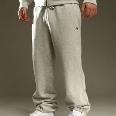 RALPH LAUREN MENS FLEECE TRACKSUIT/JOGGER BOTTOMS BNWT! 100% GENUINE