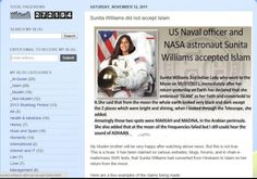 Sunita williams hoax  https://twitter.com/jan271mumtaz