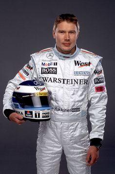 Mika Hakkinen (FIN). F1 World Champion 1998, 1999. A great champion !!!!!!!!