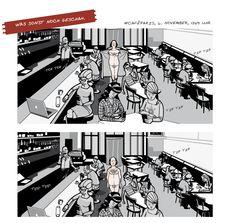 Comic rund um Hamburg  STADTLICHH Magazin für Hamburger Gelegenheiten