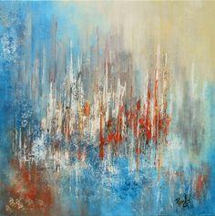 """artwork 1328 """"Sovata"""" 60x60cms"""