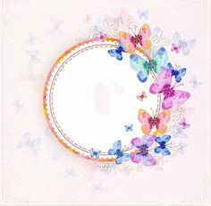 1 million+ Stunning Free Images to Use Anywhere Flower Background Wallpaper, Framed Wallpaper, Flower Backgrounds, Frame Background, Butterfly Party, Butterfly Birthday, Butterfly Print, Photo Frames For Kids, Molduras Vintage