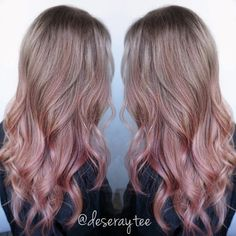 Dusty Pink Balayage - Google Search