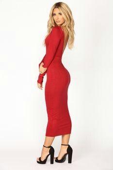 8fb71e57b801c Hot Sierra Skye Egan in gorgeous red dress