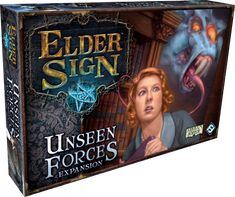 Fantasy Flight Games - Unseen Forces (Elder Sign expansion) -- YAY!